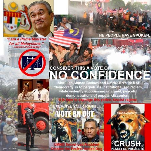 UMNO Fascism pre-GE2008