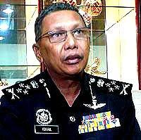 Deputy IGP Ismail Omar