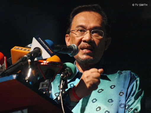 Anwar - the charismatic leader of Pakatan